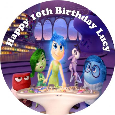 Inside Out Edible Cake Topper